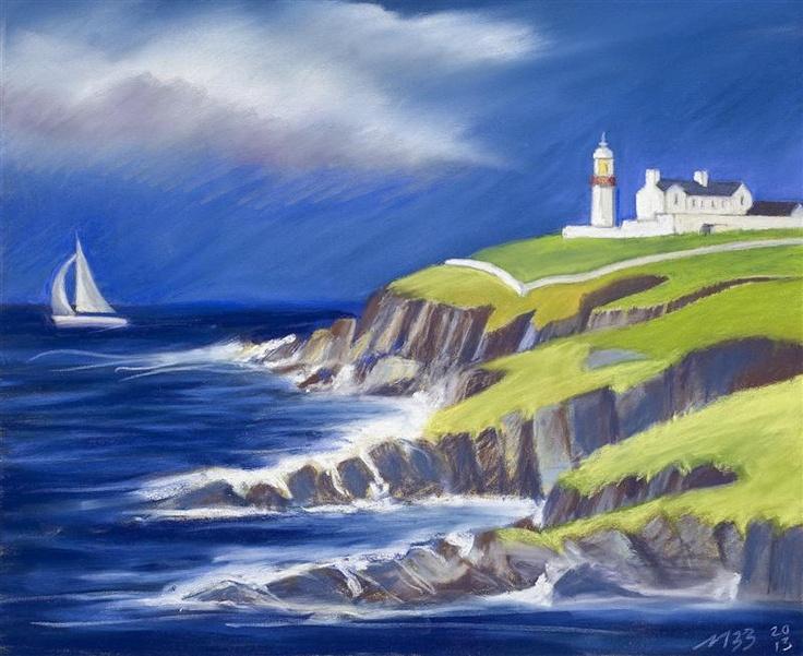 Galley Head, West Cork Coast, on exhibition now at Mad Fish Restaurant, Cronin's Pub, Crosshaven