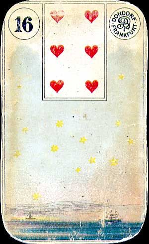 "Lenormand Tarot Deck (2nd. ed, 1900) Mademoiselle Lenormand the ""Sybil of Paris"" and reader for Josephine and Napoleon"