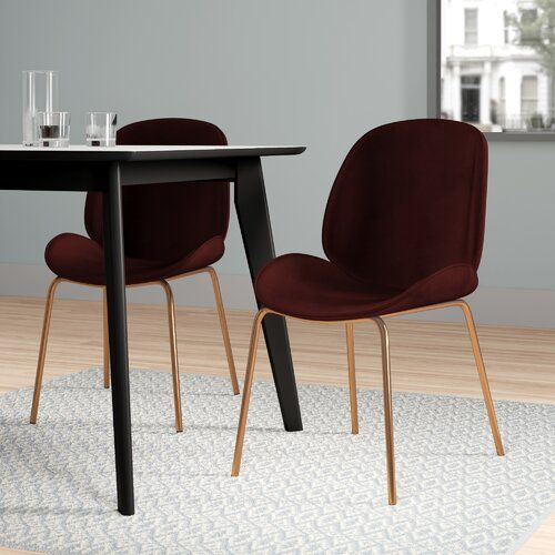 Hykkon Lawson Upholstered Dining Chair Esszimmerstuhle