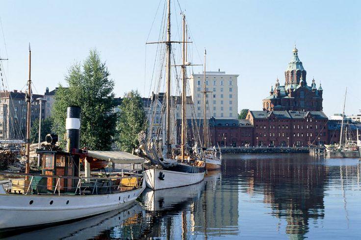 Helsinki, Finland harbour