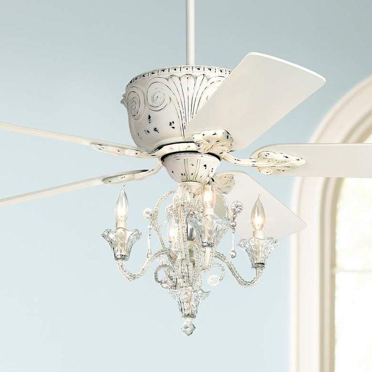 52 Casa Deville Rubbed White Led Ceiling Fan Mylampsplus Lampsplus Ceilingfan Fanideas Cei Ceiling Fan Chandelier Ceiling Fan With Light Led Ceiling Fan
