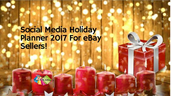 To get you sales results on eBay, your Holiday Planner for 2017 must be grounded in great keywords that shoppers and search engines use. When you don't used good keywords it's as if you're taking your items and throwing them in a heap and then daring shoppers to find your products