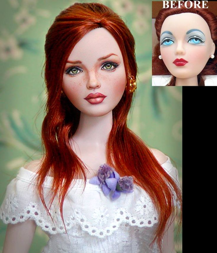 custom hair styling hair and make up style custom doll repaint and 3940 | 341bab86f371692186247a3145d82bc6 make up styles doll repaint