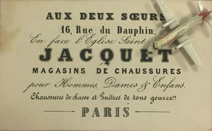 Aux deux Soeurs Jacquet Paris