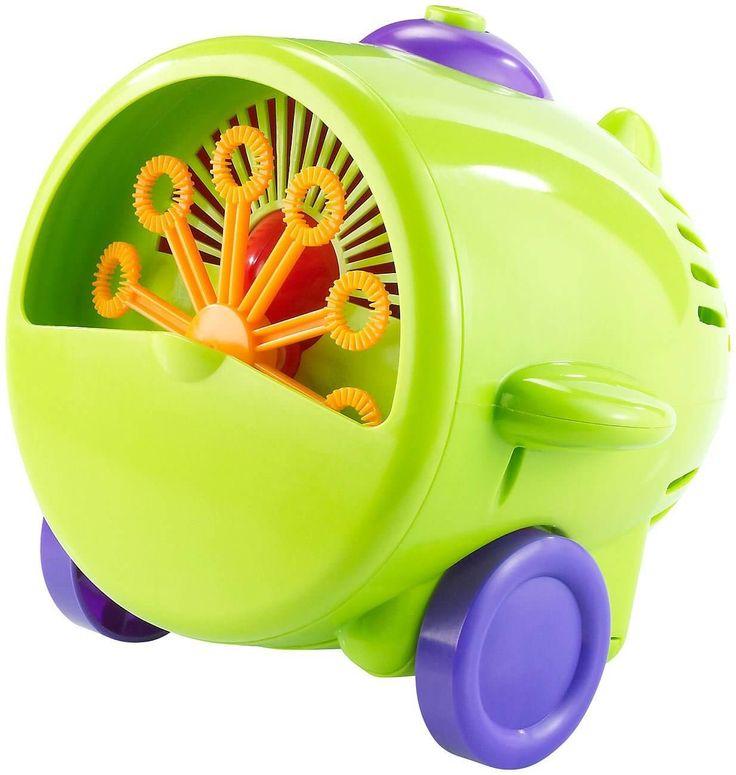 Eine lustige Seifenblasenmaschine im Fliegerlook für die Party der Kleinsten Like <3 Repin <3