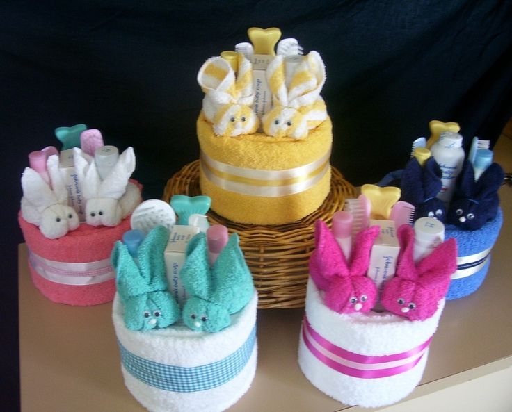 Baby Shower Gift Ideas Practical : Handmade baby shower favors info nappy cakes a