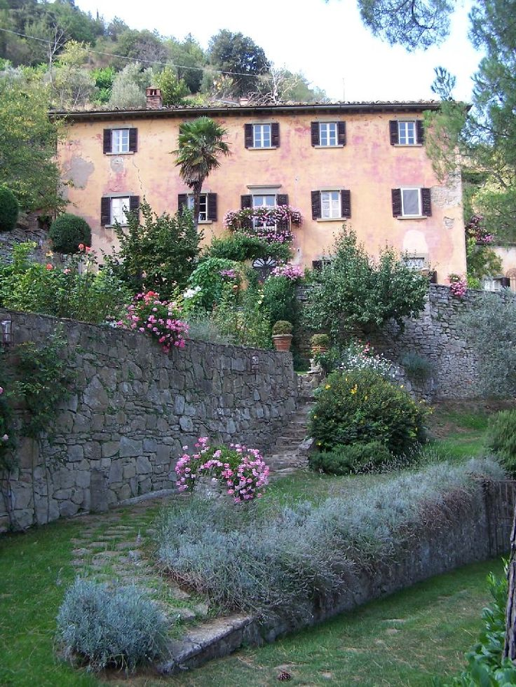 """Bramasole in Cortona, Italy. Home of Frances Mayes, author of """"Under the Tuscan Sun"""""""