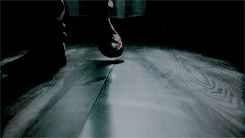 She heard his footsteps, she could hear his breathing and her body was shaking with fear...