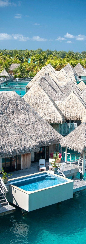 St. Regis, Bora Bora. On my Bucket list:)