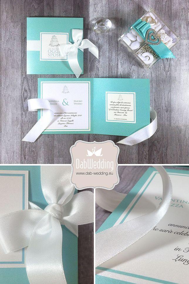 Partecipazione nozze - Miss Tiffany - www.dab-wedding.eu #Majestic #Favini