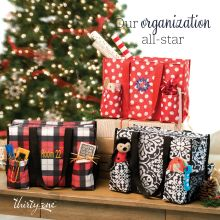 November Customer Special Social Graphic: Zip-Top Organizing Utility Tote
