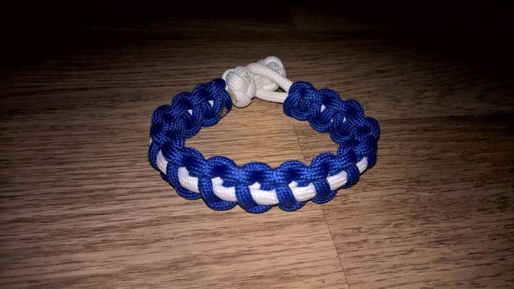 Thin (Thin Line) Solomon Bar Paracord Bracelet