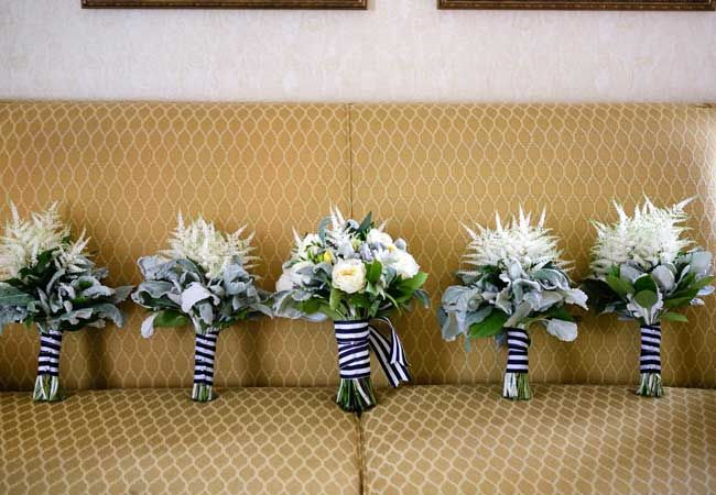 A Classic Navy and White Wedding in CA by Genevieve McKeiver Photography