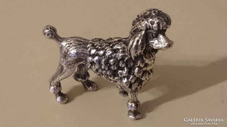 EZÜST USZKÁR kutyus. 925. KÜHN. Silber.(57.1 gr)