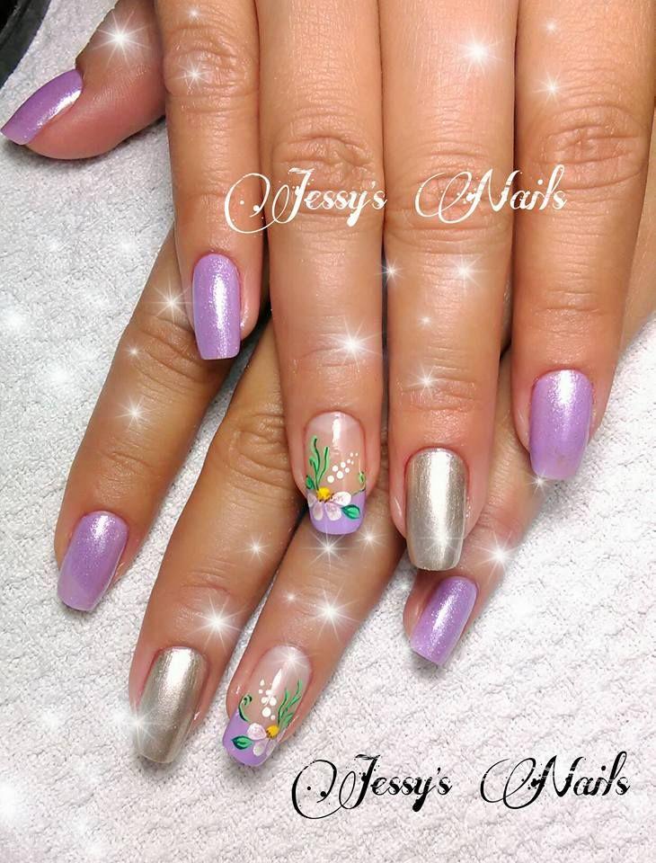 #nail #nails #nailart #desing2016  #uñas #delicadas #cutenailart #cute #flores #flower #sencillas #uñasdelicadas #uñasdecoradas