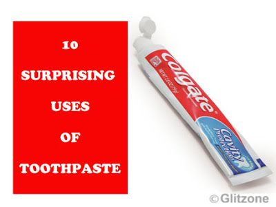 Different Uses Of Toothpaste