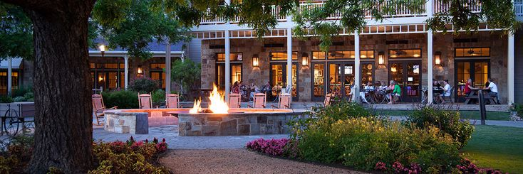 Nightly s'mores at the scenic, outdoor fire pit | Hyatt Regency Lost Pines Resort | Austin, TX hotel