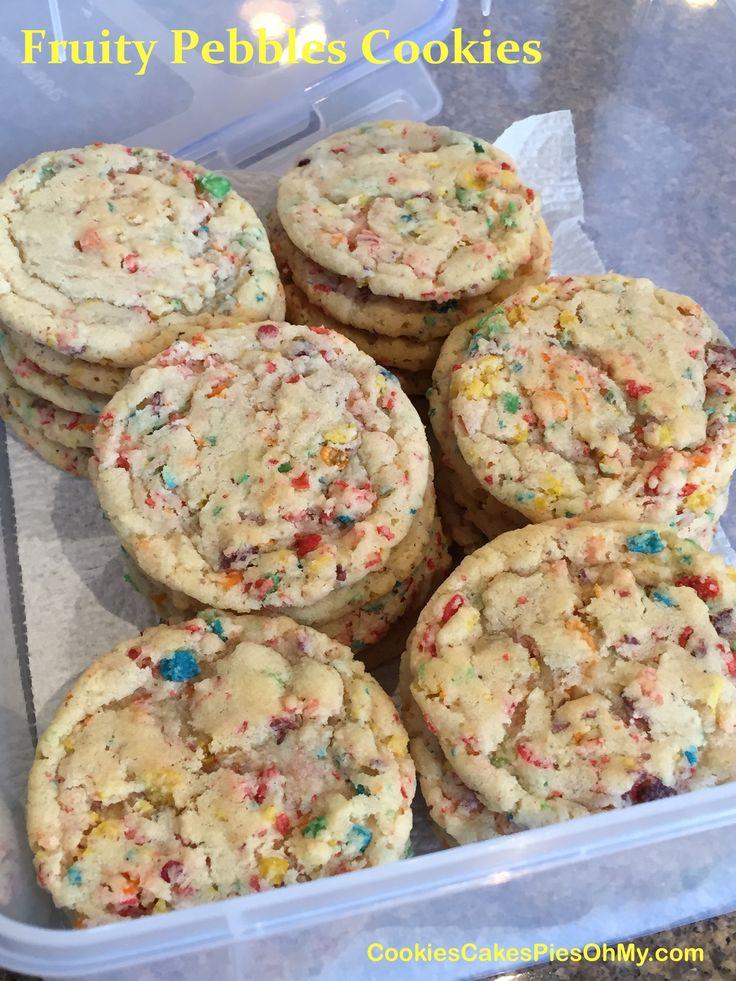 Fruity Pebbles Cookies 2