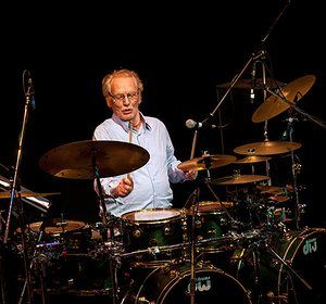 Ginger Baker: Ginger Baker's Jazz Confusion Perform In Warwick