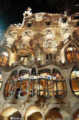 La Casa Batllò, Barcelona
