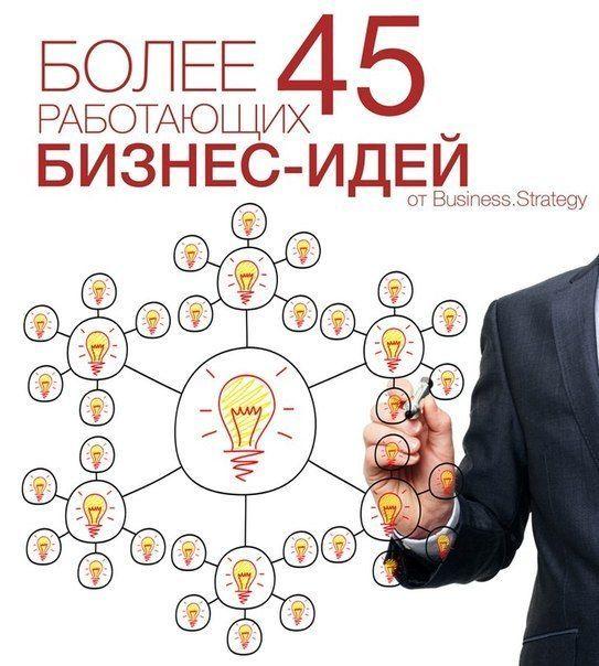 Топ-45 бизнес идей с подробным описанием