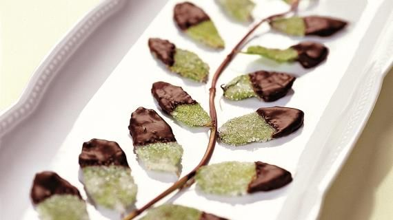 Мятные листья в шоколаде. Пошаговый рецепт с фото на Gastronom.ru