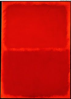 Orange Red Orange - Mark Rothko