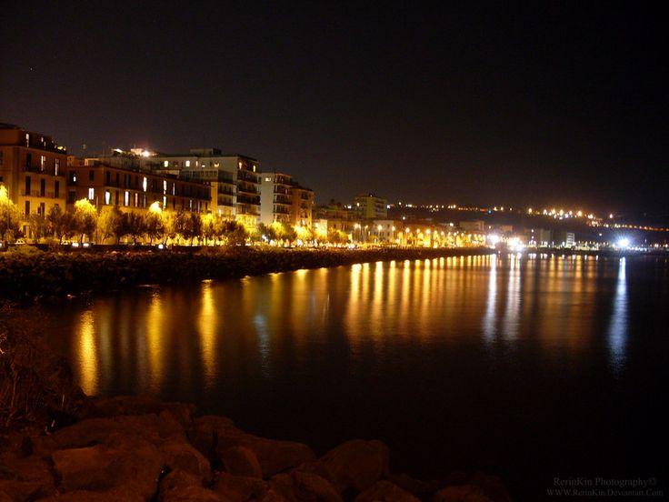Another shots of Pozzuoli coast in Naples, Italy.