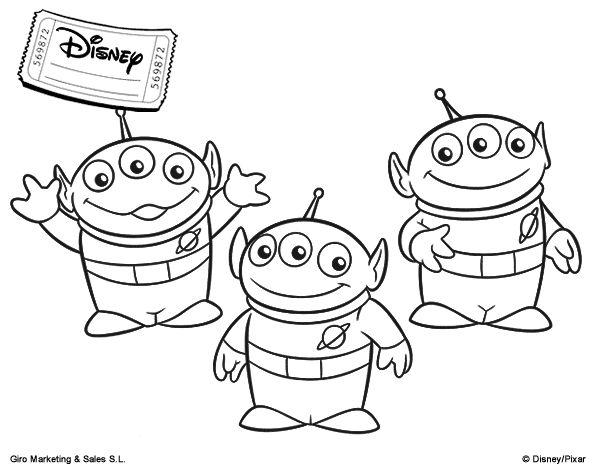 Juegos De Buzz Lightyear Para Pintar: Más De 25 Ideas Increíbles Sobre Toy Story Para Colorear