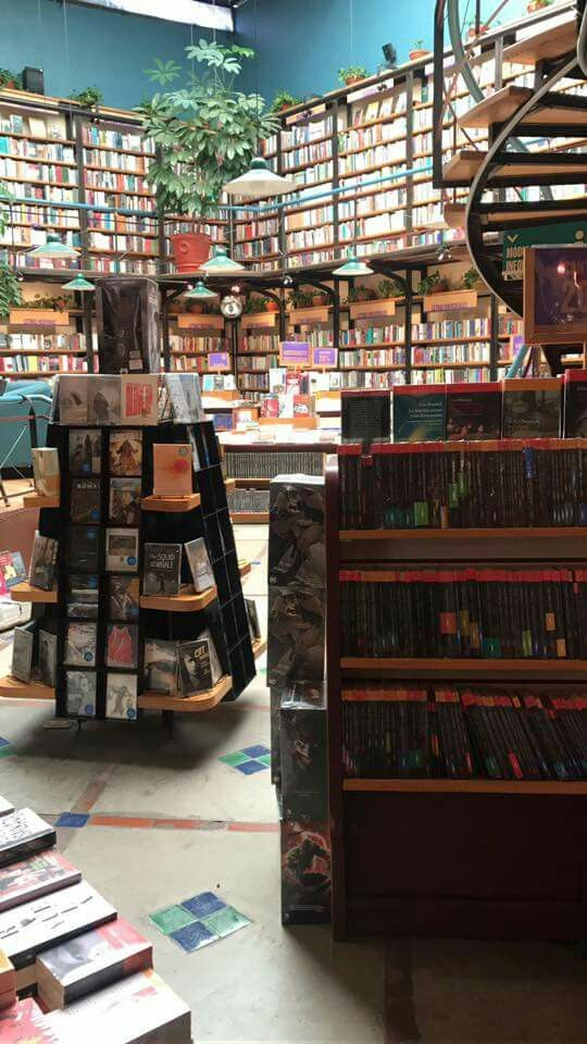 Libros fuente de saber, el mayor tesoro es el conocimiento Librería El Péndulo en la hermosa colonia Condesa CDMX