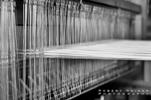 Loom in the house at Pioneer Farm, Hueston Woods Park Ohio.