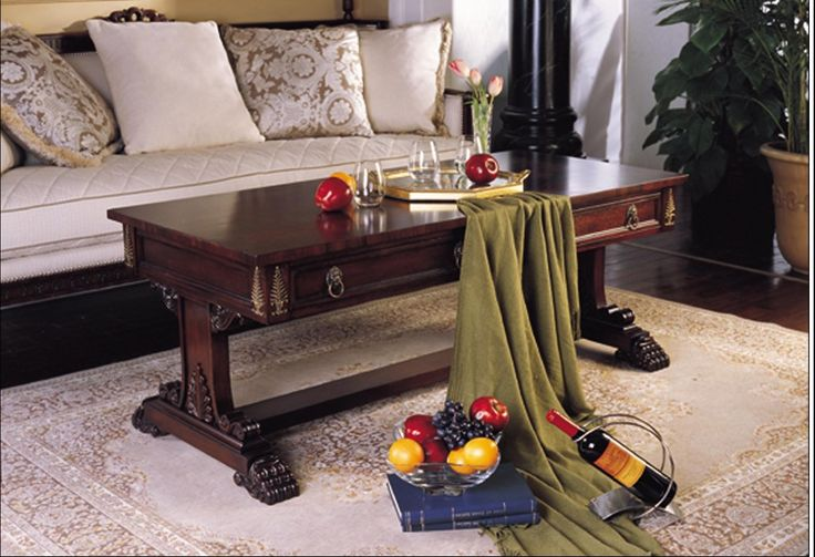 Attirant Montaage Solid Wood Coffee Table  3005 10ct  Cherry Furniture CLEARANCE$