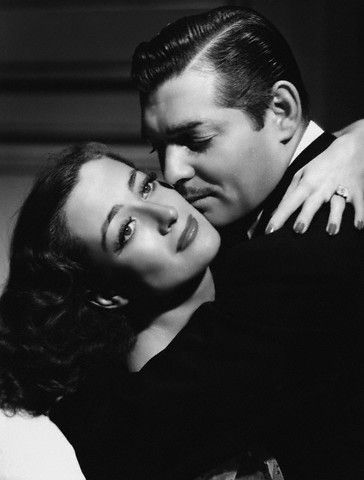 Clark Gable and Joan Crawford                              …
