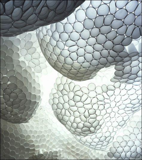 TARA DONOVAN - Plastic Cup Art