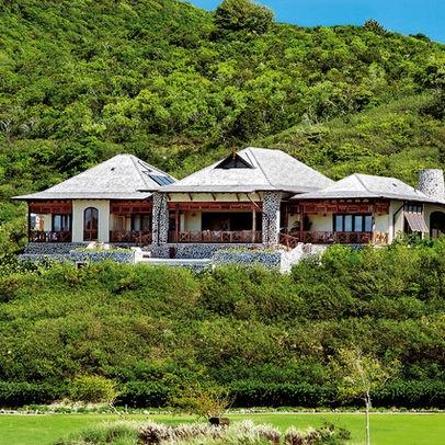 Tropical Home Pod Houses Design Exterior Home
