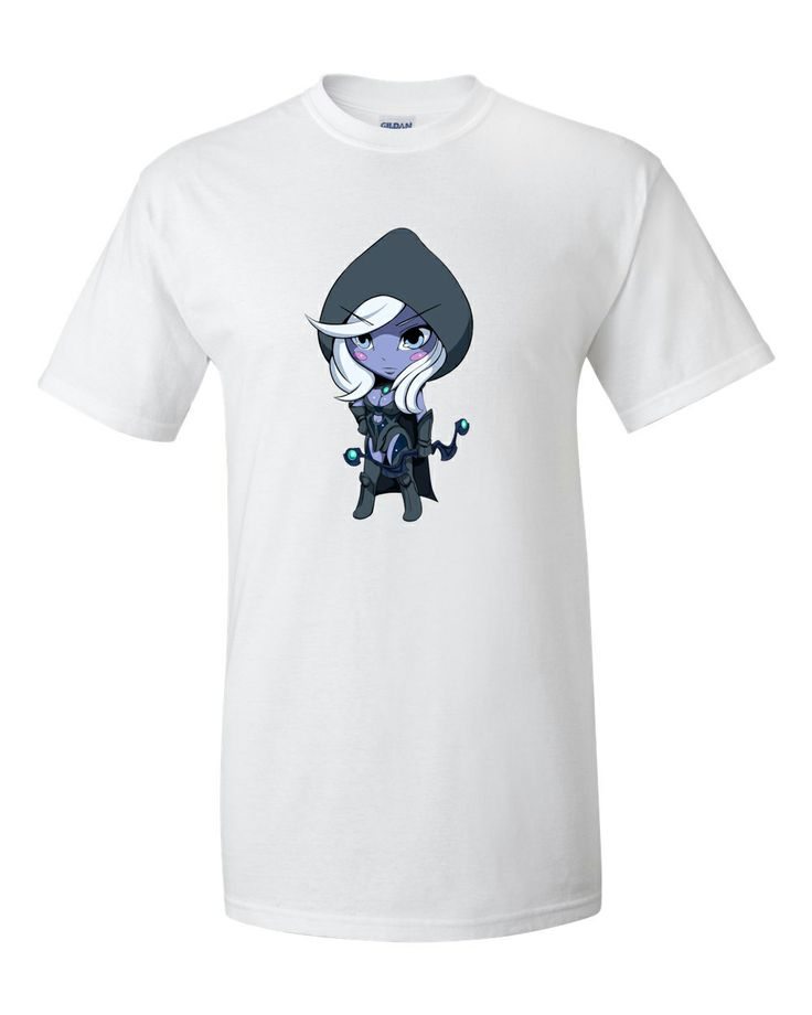 """Chibi Drow ranger  Price: $19 We accepted paypal only.  Description : Gildan 2000 Ultra Cotton™  6-ounce, 100% cotton (preshrunk jersey knit) Seamless double-needle 7/8"""" collar Double-needle sleeves and hem Taped neck and shoulders.  For order : asesasuke@hotmail.com"""
