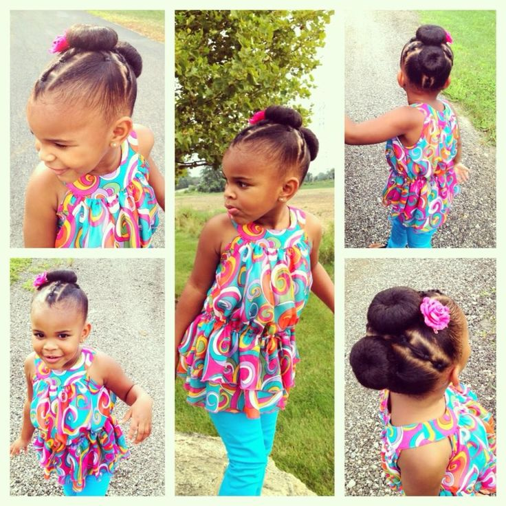 Wondrous 1000 Images About Cute Protective Styles For Little Girls On Short Hairstyles Gunalazisus
