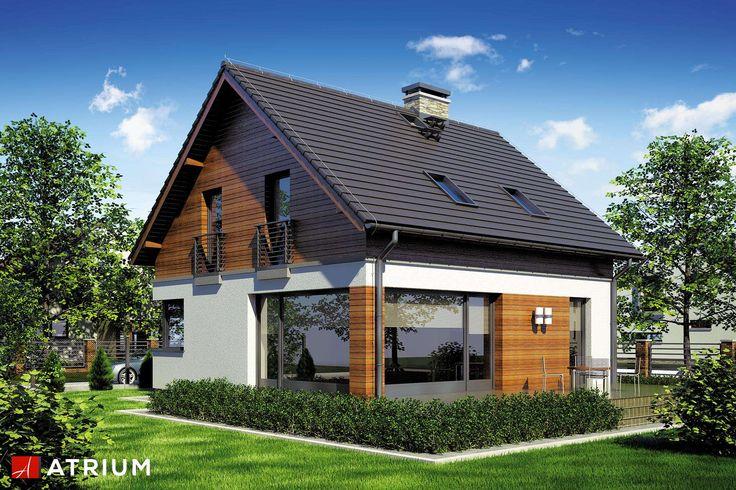 Projekty domów - Projekt domu z poddaszem POLO - wizualizacja 2