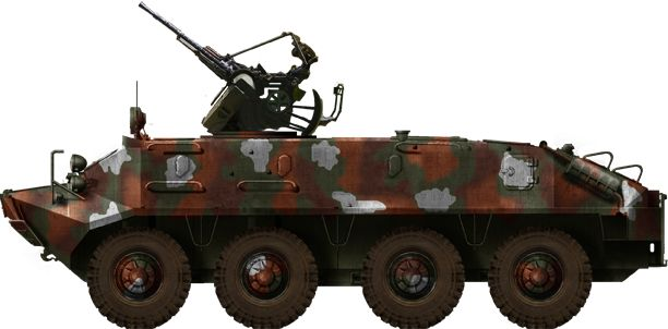Iranian AA conversion of the BTR-60