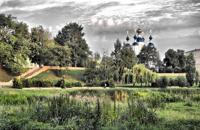 Россия - православная.