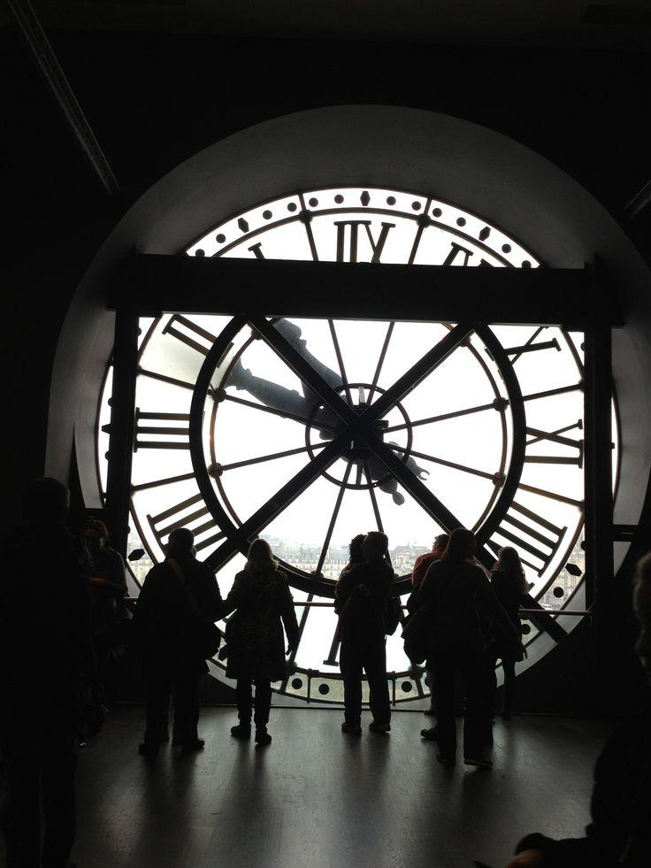 Museo d'Orsay - Dettaglio orologio - Parigi
