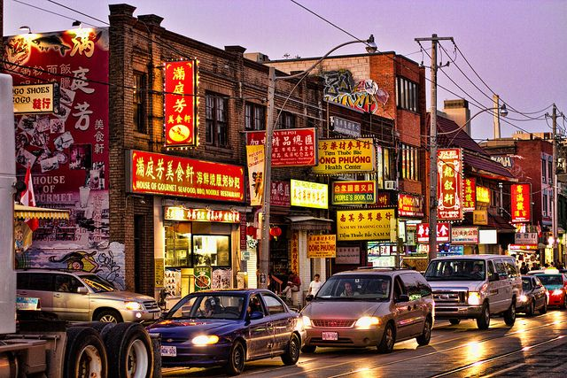 Toronto Chinatown by Morten Hoff, via Flickr