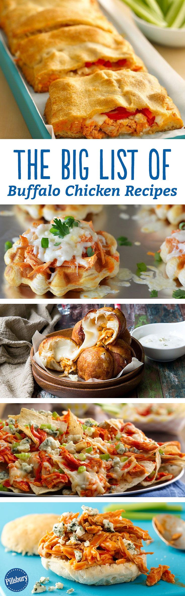 The BIG List of Buffalo Chicken Recipes | Hot sauce ...