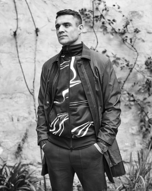 Dan Carter, rugbyman haute couture