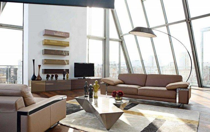 Sofa-sofa-sofa-lounge-rochebobois-leather-beige