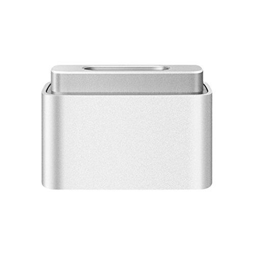 Apple Magsafe to Magsafe 2 Converter (MD504LL/A). I like my kit to be as swiss-army knife as possible and using an older 85W Magsafe power supply with this adapter allows me to share power with anyone using a Macbook regardless of age. $10