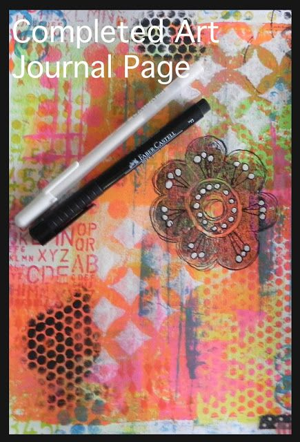 frog dog studio: Have You Ever Wondered...Gelli Arts Printing Plate Fun