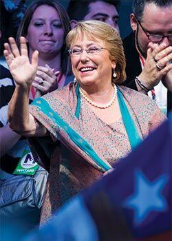 Gatopardo - Reportaje: - La segunda Bachelet