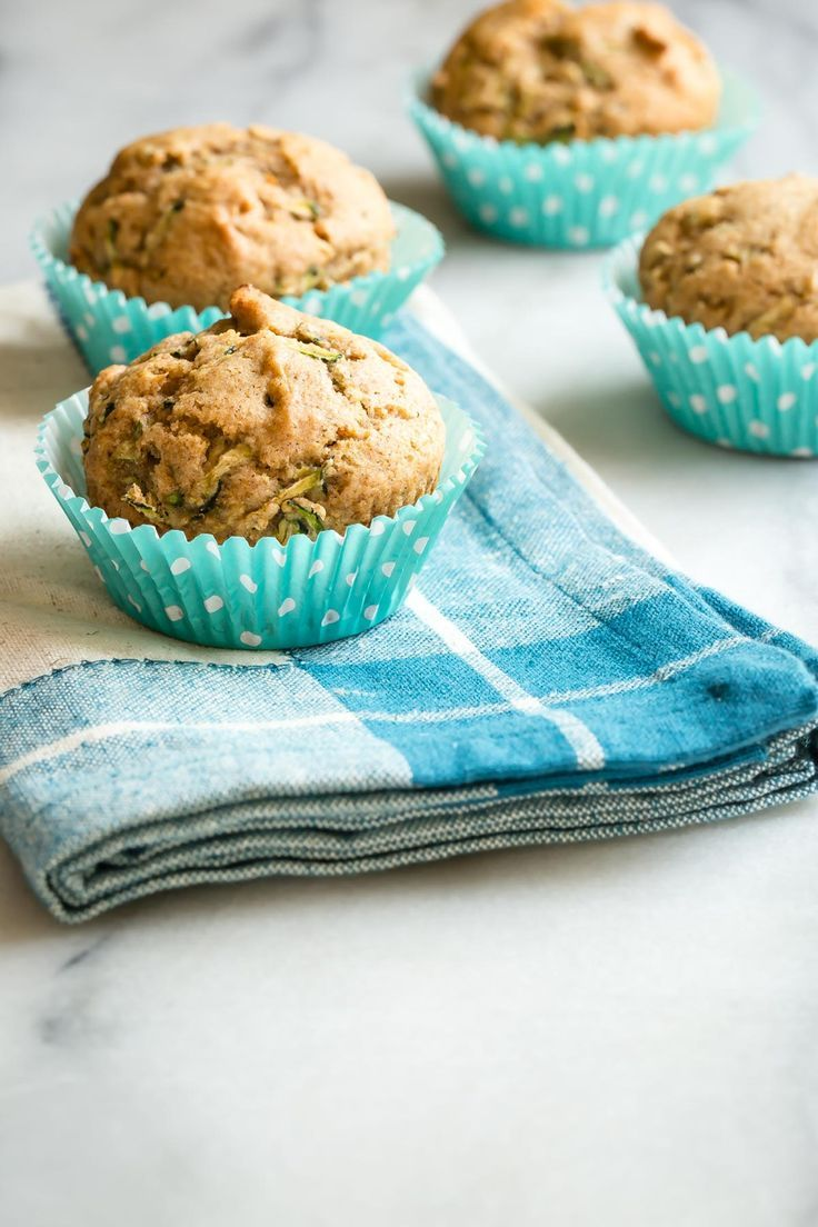 Zucchini Muffins from weelicious.com