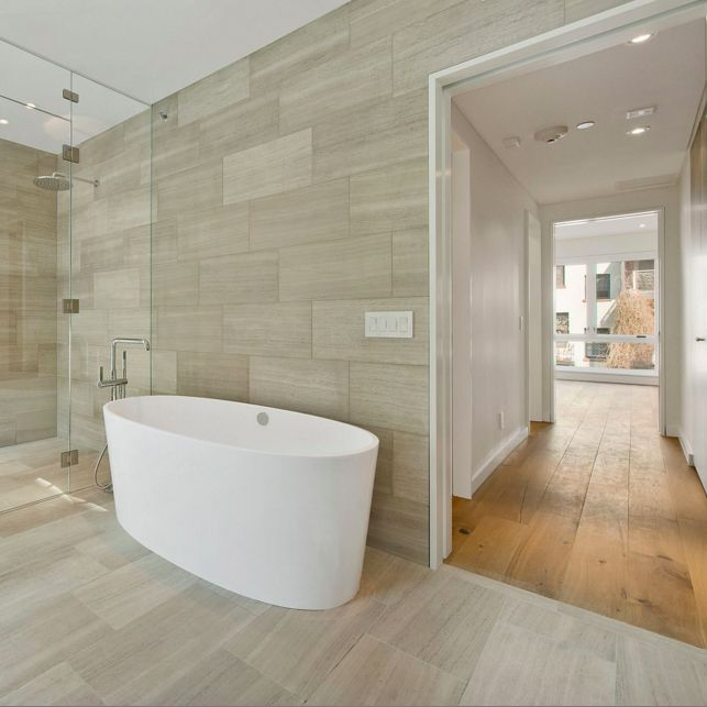 how to lay tiles in bathroom the transition from tile to hardwood flooring is easier 25439